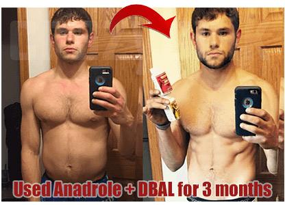 result using anadrol